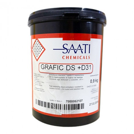 GRAFIC DS  1 KG - Emulsión resistente a los disolventes