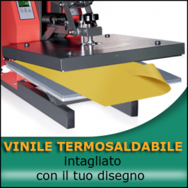 Servicio de recorte del vinilo termosoldable a partir de un archivo del cliente