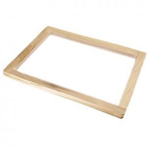 Marco para serigrafía perfil de madera