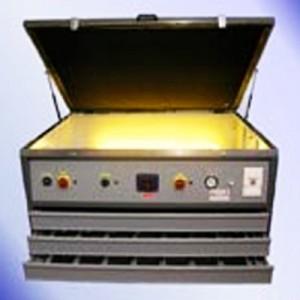 Insoladora I Bromógrafo A LUZ UV MOD. 3 EN 1 CON NEON CON 3 CAJONES