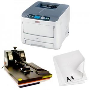 Kit completo para la impresión transfer digital en formato A4