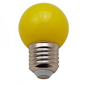 lampadina a led e27 colore giallo