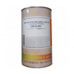DISOLVENTE DE LIMPIEZA DE BASTIDORES 51 25 L (PRECIO POR ENVASE)