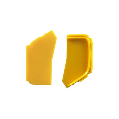 Tapas laterales para bandejas de gelatina en aluminio para serigrafía